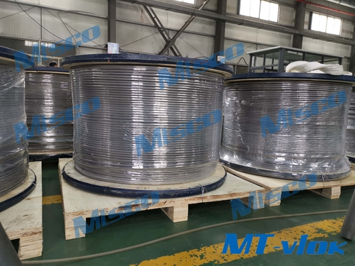 حالات الشركة حول We successfully made it! Alloy 825 welded coiled tubing!