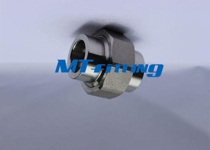 ASTM A182  F316 / 316L Forged High Pressure Pipe Fittings , Stainless Steel Pipe Fittings